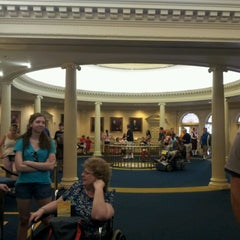 Photo taken at The Hall Of Presidents by Jeremy J. on 6/22/2012