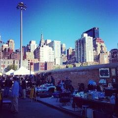 Photo taken at Hell's Kitchen Flea Market by Zahid Z. on 4/29/2012