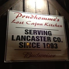 Photo taken at Prudhomme's Lost Cajun Kitchen by Amy P. on 4/14/2012