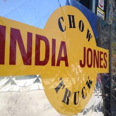 Photo taken at India Jones Chow Truck by Zach B. on 7/16/2012
