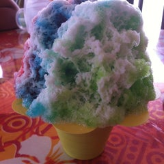 Photo taken at Tropical Shave Ice by Janelle on 6/15/2012