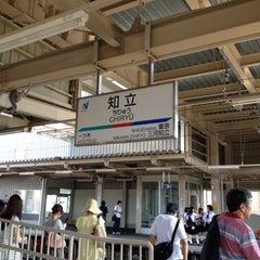 Photo taken at 知立駅 (Chiryu Sta.) by Nê M. on 7/28/2012
