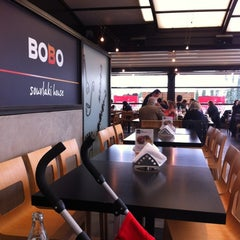 Photo taken at Bobo Souvlaki House by George P. on 2/5/2012