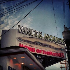 Photo taken at White House Sub Shop by Taryn M. on 7/9/2012