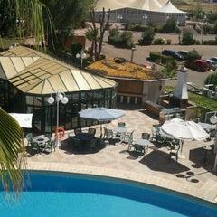 Photo taken at Hotel Las Lomas by Rafael G. on 8/4/2012