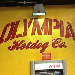 Photo taken at Olympia Hot Dog Company by Hank G. on 7/31/2012