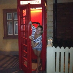 Photo taken at United Kingdom Pavilion by Arielle on 8/7/2012