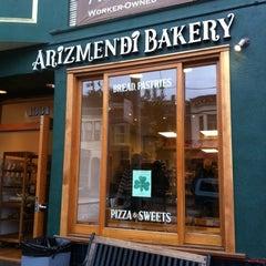 Photo taken at Arizmendi Bakery by Carol H. on 3/11/2012