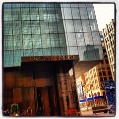 Photo taken at Trump SoHo New York by Brian B. on 7/13/2012