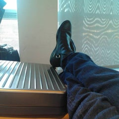 Photo taken at Lufthansa Business Lounge A (Schengen) by Richard K. on 2/9/2012