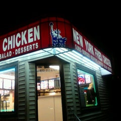 Photo taken at New York Fried Chicken by Kenneth L. on 2/24/2012