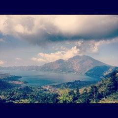 Photo taken at Batur View Spot by Aleksandra N. on 9/8/2012