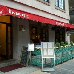 Photo taken at Cafe Soleil by Matthew R. on 5/22/2012