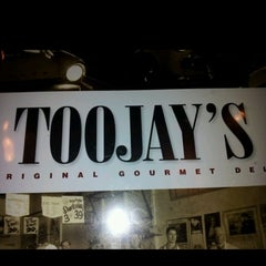 Photo taken at TooJay's Gourmet Deli by umit g. on 8/1/2012
