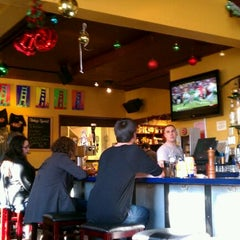 Photo taken at Mars Bar & Restaurant by Lydia K. on 12/17/2011