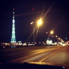 Photo taken at Ушаковский мост by Anastasia💕 on 7/24/2012