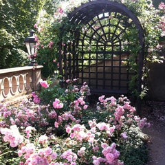 Photo taken at Ledeburská zahrada | Ladeburg Garden by Eva B. on 6/16/2012