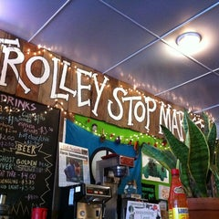 Photo taken at Trolley Stop Market by Paul E. on 3/10/2011
