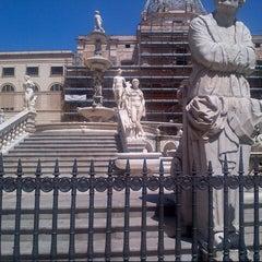 Photo taken at Quattro Canti by Benni P. on 8/12/2012