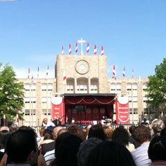 Photo taken at St. John's University by Tara D. on 5/13/2012