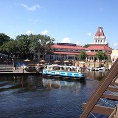 Photo taken at Disney's Port Orleans Riverside Resort by Eric S. on 5/8/2012