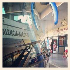 Photo taken at Estación de Autobuses de Valencia by Ana R. on 9/12/2012
