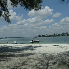 Photo taken at Ted Sperling Park at South Lido Beach by Katheryn P. on 6/15/2012