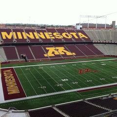 """Photo taken at TCF Bank Stadium by Jason """"Gus"""" W. on 8/9/2012"""