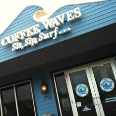 Photo taken at Coffee Waves by Priscilla B. on 2/26/2012