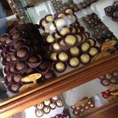 Photo taken at Fábrica Chocolate Araucária by Dave V. on 6/9/2012
