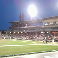 Photo taken at Victory Field by JC D. on 8/23/2012