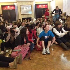 Photo taken at Alpha Omicron Pi-Nu Omicron Chapter at Vanderbilt by Patricia L. on 11/6/2011