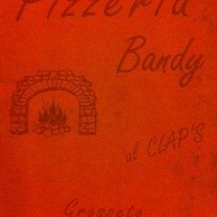 Photo taken at Pizzeria Bandy by Francesco on 8/23/2012