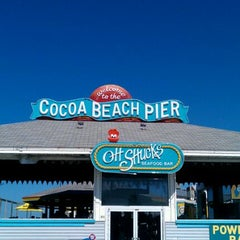 Photo taken at Cocoa Beach by Jess B. on 4/26/2012