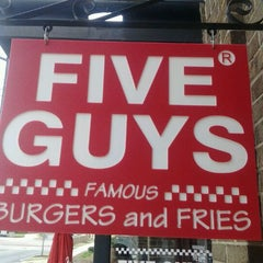 Photo taken at Five Guys by Montgomery C. on 3/3/2012