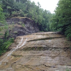 Photo taken at Buttermilk Falls State Park by Ian P. on 7/7/2012