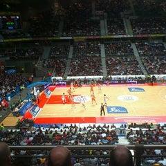 Photo taken at Barclaycard Center - Palacio de Deportes de la Comunidad de Madrid by Manuel M. on 12/4/2011