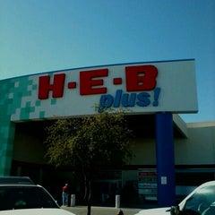 Photo taken at H-E-B plus! by sarah on 11/4/2011