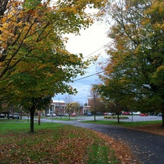 Photo taken at St. Lawrence University by Tom E. on 10/18/2011
