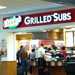 Photo taken at Charley's Grilled Subs by @Philly2ATL96 on 9/20/2011