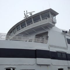 Photo taken at Steamship Authority - Woods Hole Terminal by Lauren L. on 7/4/2012