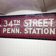 Photo taken at New York Penn Station by John F. on 6/8/2012
