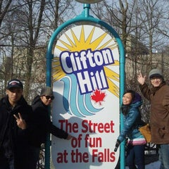 Photo taken at Clifton Hill Tourist Area by Jeffy B. on 1/22/2012