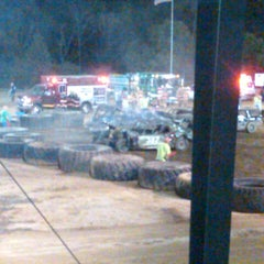 Photo taken at Westmoreland Fairgrounds by Jessica H. on 8/20/2012