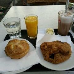 Photo taken at Bäckerei Felzl by Lydia on 8/28/2011