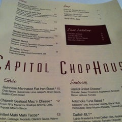 Photo taken at Capitol Chophouse by Patti S. on 10/20/2011