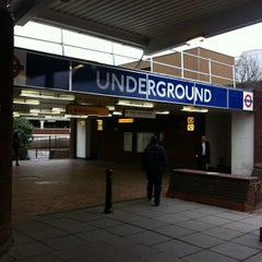 Photo taken at Heathrow Airport Terminals 1, 2 & 3 London Underground Station by sinister p. on 1/25/2012