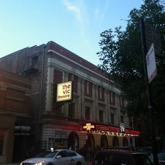 Photo taken at The Vic Theatre by Gina G. on 9/4/2012