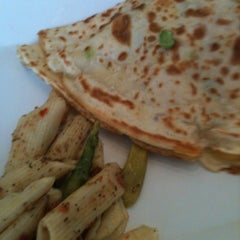 Photo taken at Crepes A Latte The Cafe by American Business Language Academy C. on 3/30/2012