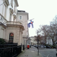Photo taken at Finnish Embassy by hanna s. on 1/26/2012